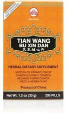 Min Shan, Tian Wang Bu Xin Dan, 200 ct