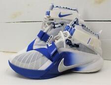 Nike Zoom LeBron James Soldier 9 IX Premium Kentucky Wildcats #BBN Shoes Size 11