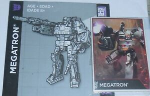 Transformers Combiner Wars MEGATRON Leader Class BIO and MANUAL