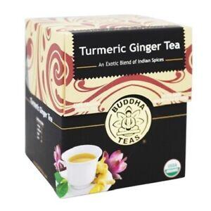 Buddha Turmeric Ginger Organic Herbal Tea