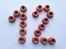 Kupfermutter M8  SW12  für Krümmer, Turbo, Auspuff, Ansaugkrümmer  > 20  Stück