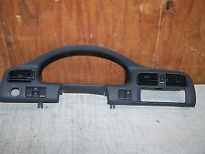 2001 Mazda 626 Instrument cluster bezel 3 a/c vents das trim panel
