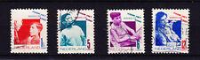 Nederland Netherlands 240-243 Kinderzegel 1931   gestempeld