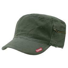 GREEN ARMY MILITARY GI BDU ZIPPER POCK PATROL CAP HAT