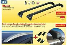 9200+9280 BARRE PORTATUTTO GEV NERE X SW CON B.INTEGRATE ATTACCATE RAILS