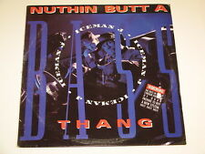 ICEMAN J nuthin butt a bass thang Lp RECORD MIAMI BASS