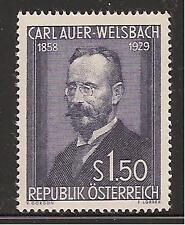 AUSTRIA # 595 MNH Famous Chemist Science