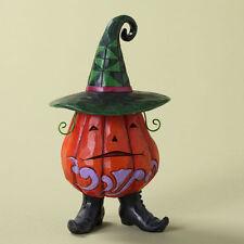 Jim Shore Pint Sized Halloween Jack-O-Lantern Pumpkin Figurine ~ 4027797
