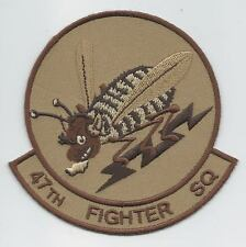 47th FIGHTER SQUADRON desert patch