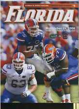 2008 Florida Gators vs South Carolina Gamecocks football program MBX46