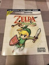 The Legend of Zelda The Minish Cap Nintendo Power Guide w/Poster GBA Gameboy