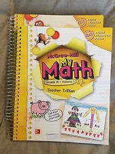 McGraw-Hill-My Math Teacher Edition (2014) Grade K