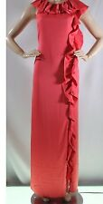 New with defect $298 BCBG Max Azria Nanci Ruffle Belted B1458 Dress Sz 2