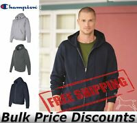 Champion Mens Double Dry Eco Full Zip Hooded Sweatshirt Hoodie S800 up to 3XL