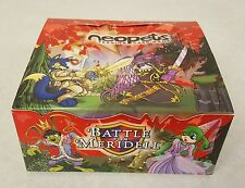 OPENED Battle for Meridell Neopets Booster Box 36 Packs NO CODE CARDS