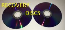 Windows 7 OEM recovery discs for Toshiba L505 P505 Laptops