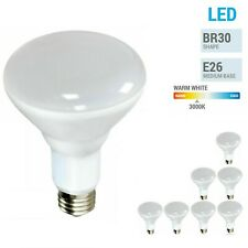 BR30 LED Light Bulb - S9022  Satco / Frosted / 3K/ 120V / E26- Warm White