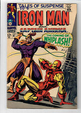 TALES OF SUSPENSE #97 - Grade 7.0 - First appearance of WHIPLASH!