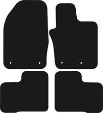 FIAT 500x (2015-data) Nero Checker IN GOMMA SU MISURA tappetini per AUTO
