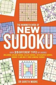 The Mammoth Book of New Sudoku [Mammoth Books] Moore, Gareth Good