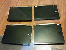 Mixed Lot Of (4) Dell Latitude E Series Laptops E6500 No Hard Drive / No RAM