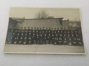 Old Vintage Photo Firemen Fire Service Uniform Circa. 1930's 2