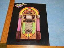1988 Antique Aparatus Rb-8 Bubbler Series Ii 1015 45 Rpm Advertising Flyer