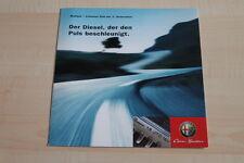 97682) Alfa Romeo 147 156 1.9 JTD Prospekt 11/2002