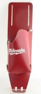 Milwaukee Red Leather Tool 48-17-0200 Top Grain Cordless Drill Holster Holder