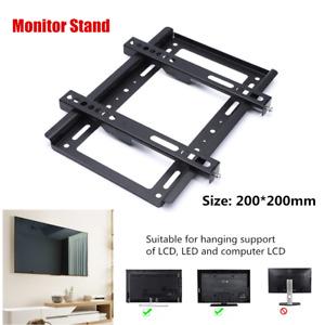 Slim Monitor TV Wall Bracket Mount For 14 32 40 42 50 55 60 65 70 Plasma LED LCD
