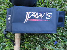 New 9' Black Jaws Quarter Cut Rod Cover FOR Calstar Daiwa Shimano G-Loomis Rod