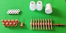 33 pièces, long, pt31 Cut 30 40 50 jg-40, plasma Schneider, Soudure, 50 Amp, set