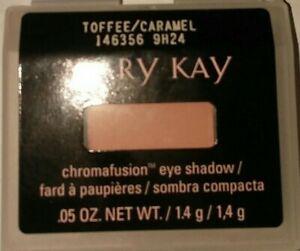 Mary Kay Chromafusion Eye Shadow- Toffee/Caramel Matte NEW