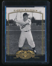 HARMON KILLEBREW 2005 UD PAST TIME PENNANTS GOLD #38 43/50 *MINNESOTA TWINS*