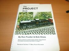 More details for the project book       ron poulter & bob hines.