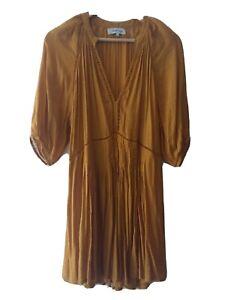 Magali Pascal Dress Tobacco