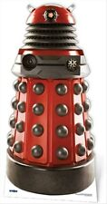 Dalek Drone (Red) Doctor Who Official Lifesize Cardboard Cutout Fun Figure