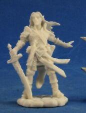 Reaper Miniatures Arael, Half Elf Cleric #89028 Pathfinder Bones D&D Mini Figure