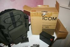 ICOM IC 703 TRANSCIEVER  BAG156