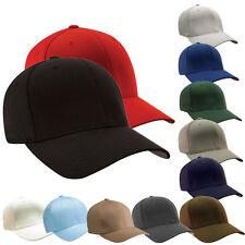 Plain Baseball Cap original FLEXFIT Caps Flex-Fit Basecap Hat NEW«