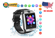 Bluetooth Smart Watch Camera SIM TF Card Touch Screen For iOS Android