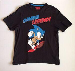 Sonic The Hedgehog T-Shirt Sega Gaming Legend Unisex Size M Bioworld Official