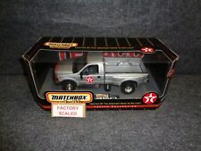 TEXACO 1999 FORD F350 DUALLY PICKUP TRUCK - MATCHBOX DIECAST 1:24th SCALE