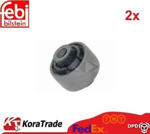 2x FEBI BILSTEIN 1312 REAR CONTROL ARM TRAILING ARM BUSH X2 PCS