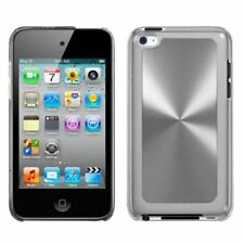Silver Cosmo Back Case Cover For APPLE iPod touch 4th generation