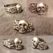 Bague du 19ème siècle en Argent poinçon à identifier. Antiquité ,silver ring.