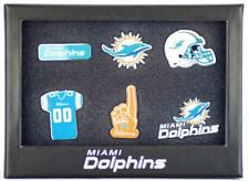 Forever Collectibles Miami Dolphins 6 piece Pin Badge Set SPILLA NFL NUOVO NEW