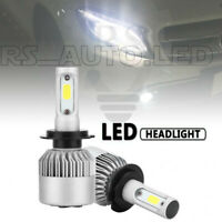 VW T-ROC 2017+ 2x Bulbs H7 LED Cob Headlights Bright High Beam 72W 6500K White