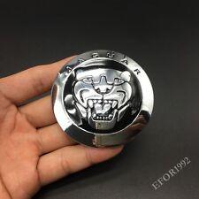 Metal Jaguar Logo Hood Grill Emblem Car Badge Sticker For XJL XF F-Type R-Sport