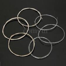 Set Jeu De 6 Nylon String Corde Cordons 1M Pr Guitare Acoustique Folk Classique